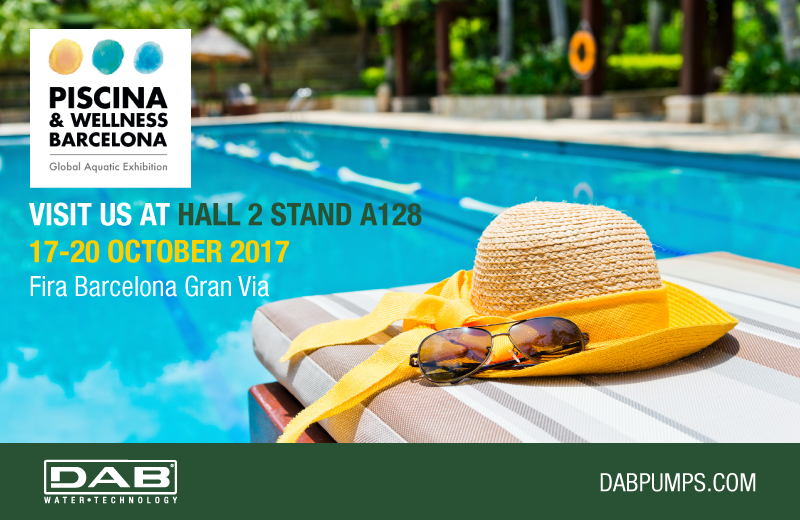 Meet dab at piscina wellness barcelona dab pumps for Piscina wellness barcelona