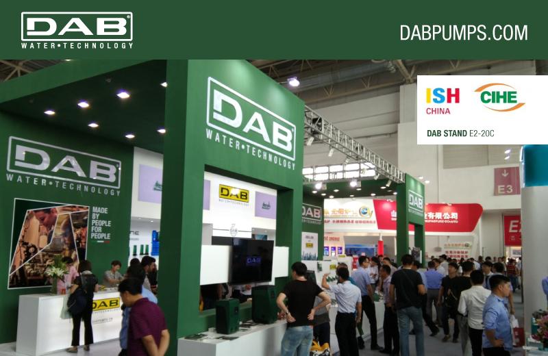 DAB Greens your life at ISH China & CIHE 2017