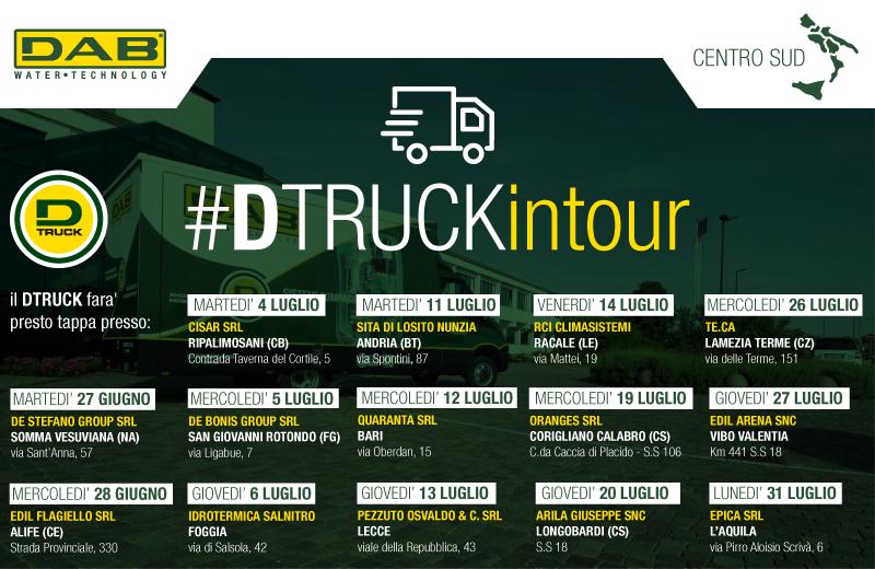 The D.Truck summer tour