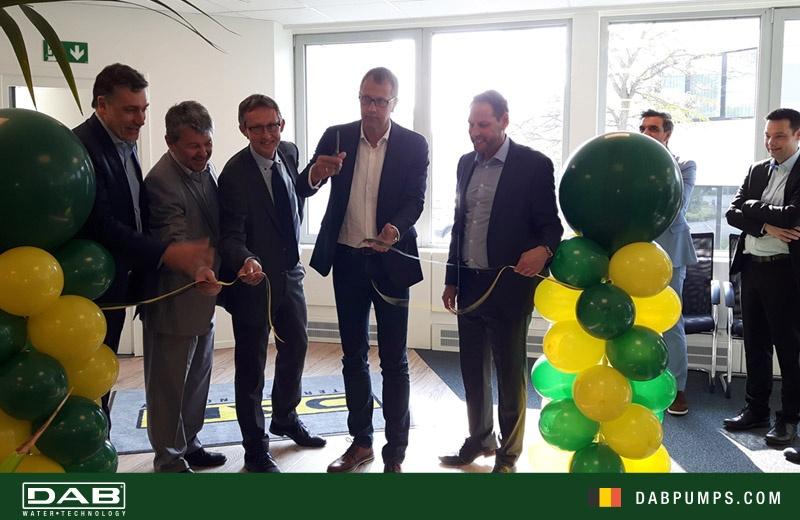 16 Maggio 2018: DAB Belgio taglia il nastro della nuova sede.