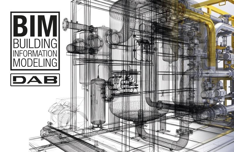 DAB Pumps, mette a disposizione i modelli BIM