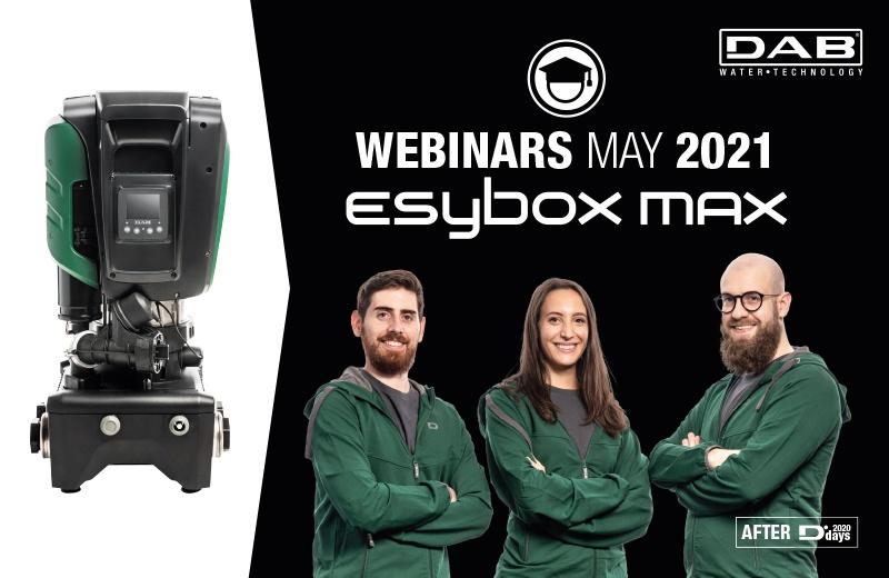 Webinars May 2021 – Esybox Max