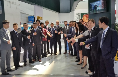 DAB at Beijing for ISH Trade Fair 2016
