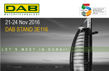 Dab at BIG 5 Exhibition 2016 - DUBAI