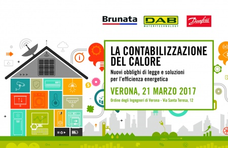 At Verona conference to talk about energy efficiency