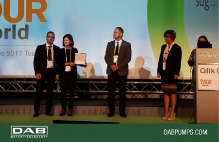 Il progetto Dab vince il Qlik Innovation Award 2017