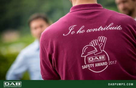 DAB di San Germano ha vinto il premio DAB Safety Award 2017