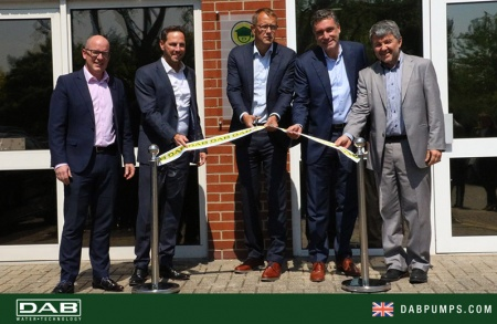 The new premises of DAB Pumps LTD in UK were inaugurated on Thursday 15 May 2018.