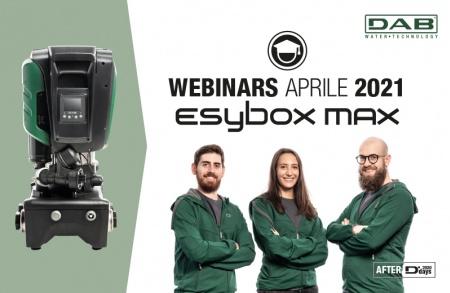 WEBINARS DAB APRILE 2021 - Esybox Max