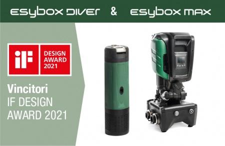 IF DESIGN AWARD 2021. Successo per Dab Pumps